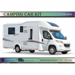 Camping Car Glamys - NOIR /...