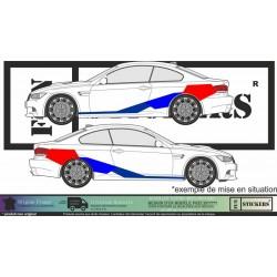 Kit décoration adhésif BMW M performance