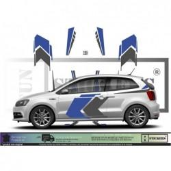 Volkwagen Polo WRC 3 rally...