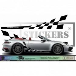 Porsche Bandes Latérales...