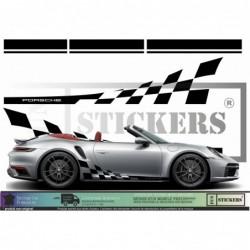 Porsche Bandes Intégrales...