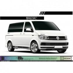 VW van Volkswagen Bandes...