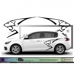 Peugeot Logo Lion ST GTI...
