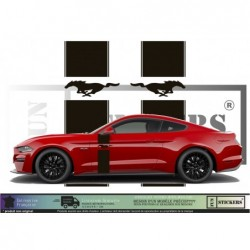 Ford Mustang Bandes...