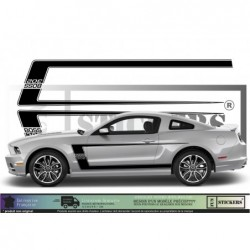 Ford Mustang Bandes BOSS...