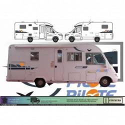 Camping Car Galaxy Pilote -...