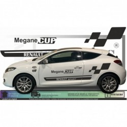 Renault Megane Cup - Kit Complet - Tuning Sticker Autocollant Graphic Decals