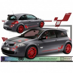 Renault Megane R 26 R - Kit Complet - Tuning Sticker Autocollant Graphic Decals