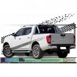 trace pneu effet 4x4 autocollants adhésifs Fun stickers ki