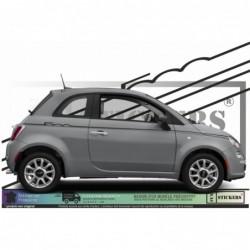 Fiat 500 - kit Bandes...
