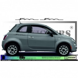 Fiat 500  stickers...