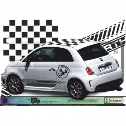 Fiat 500  Kit Abarth toit...