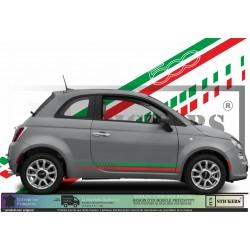 Fiat 500 Bandes Italie Bas...