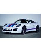 Autocollant sticker pour voiture Porsche.  Adhésif de qualité premium